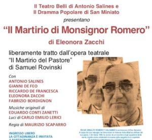 Mons. Romero in teatro