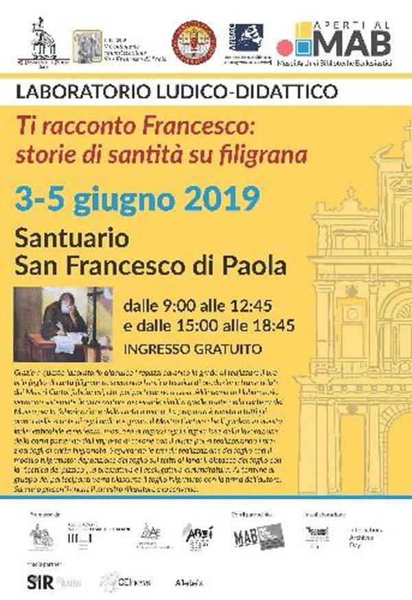 Ti racconto Francesco: storie di santità su filigrana