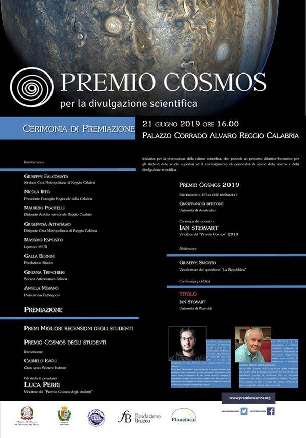 Premio Cosmos 2019