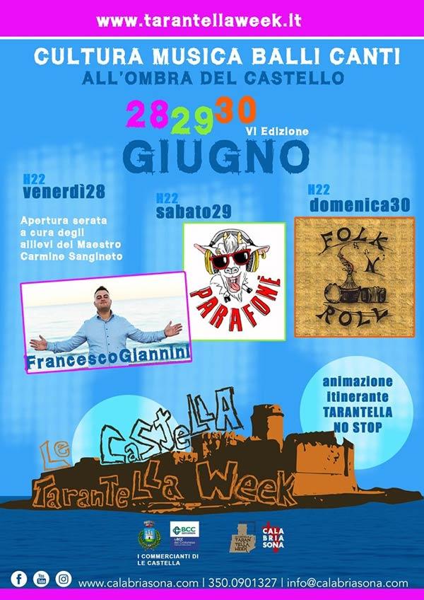Le Castella Tarantella Week