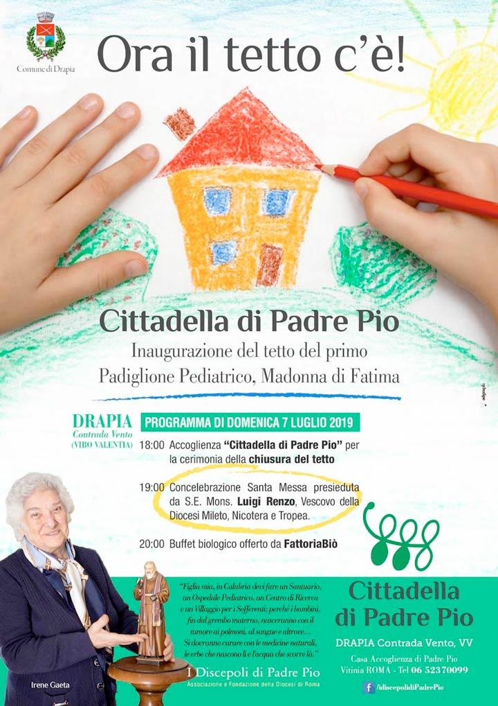 Cittadella di Padre Pio a Drapia