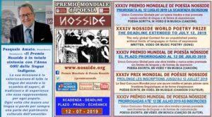 Nosside, Premio mondiale di poesia