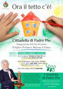 Evento Padre Pio a Drapia (VV)