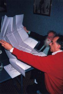 Fernando Miglietta e Pierre Restany