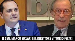 Marco Siclari e Vittorio Feltri