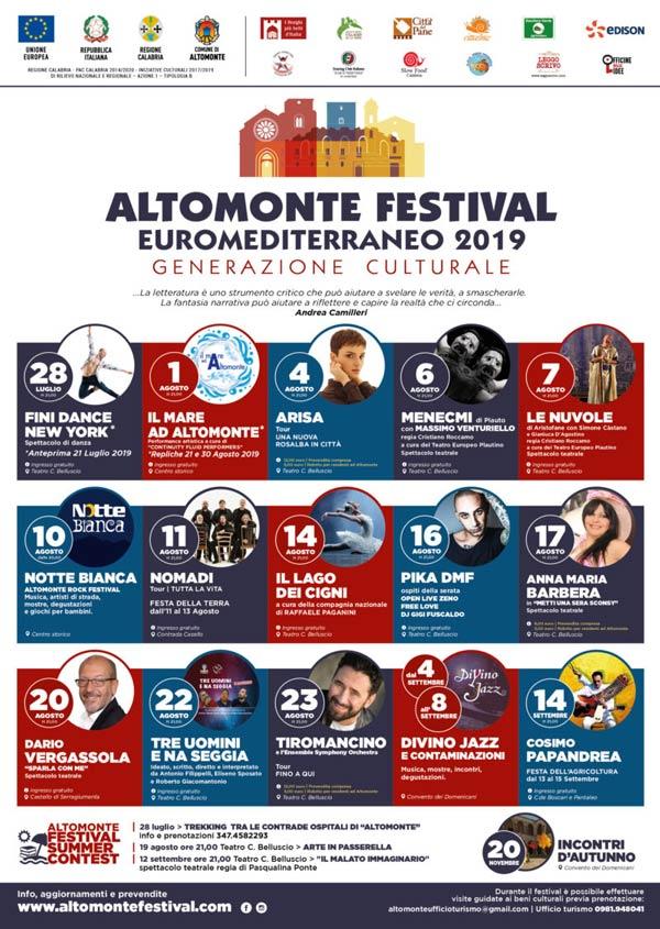 Altmonte Festival Euromediterraneo