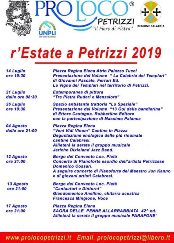 r'Estate a Petrizzi 2019
