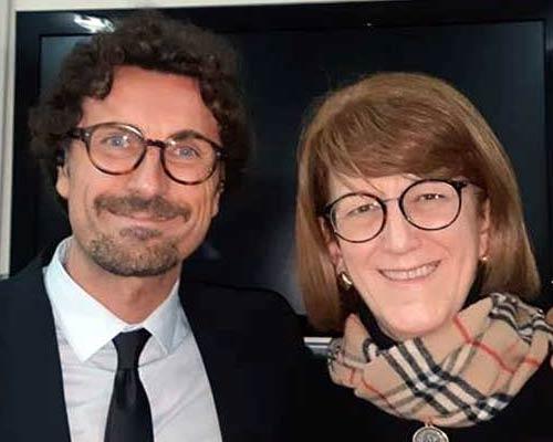 Danilo Toninelli ed Elisabetta Barbuto