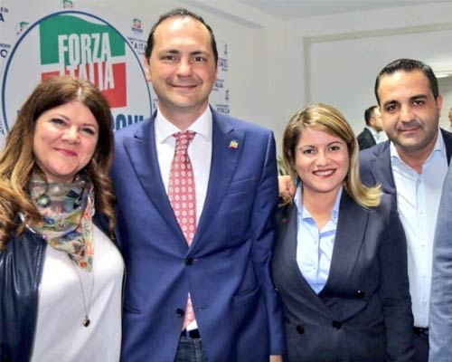 Fulvia Michela Caligiuri, Marco Siclari, Maria Tripodi e Francesco Cannizzaro