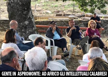 Gente in Aspromonte 2018