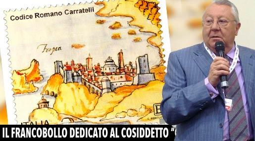 Il francobollo dedicato al Codice Carratelli