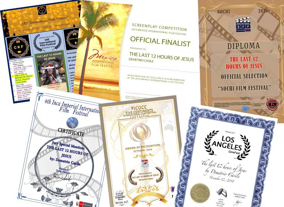 Premi da tutto il mondo per Demetrio Casile