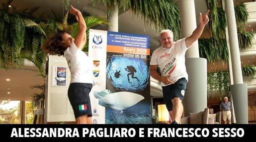Alessandra Pagliaro e Francesco Sesso