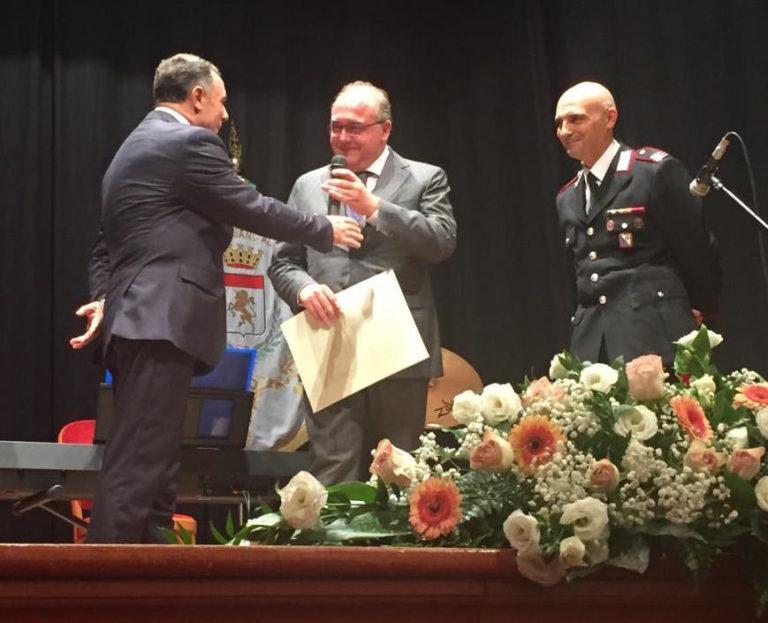 Cittadinanza onoraria di Cassano allo Ionio al giornalista Andrea Camporese