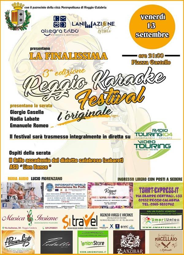 Reggio karaoke Festival