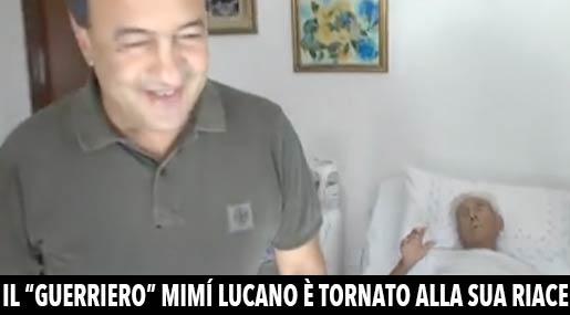 Mimì Lucano e il padre Roberto