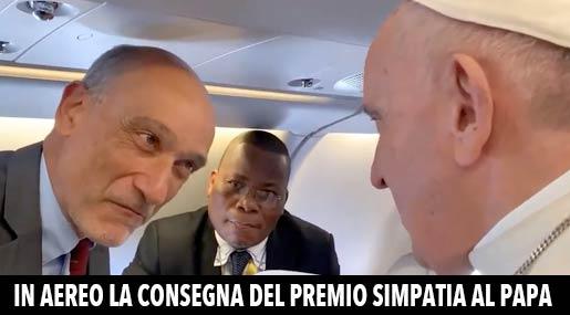 Enzo Romeo e Papa Francesco
