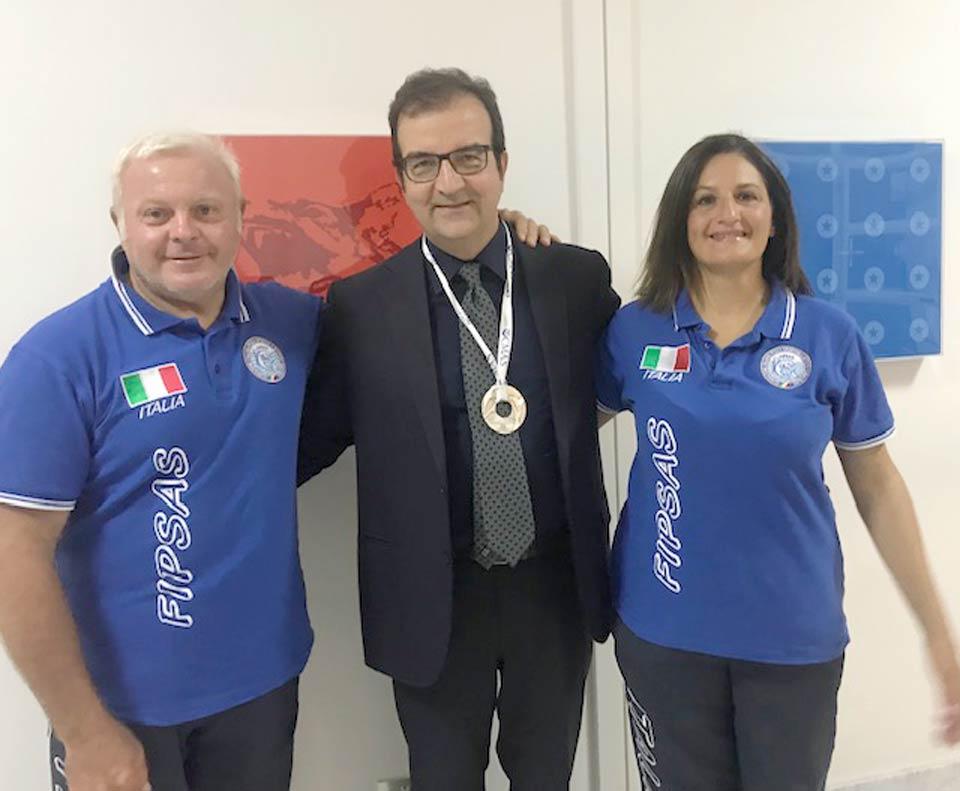 Francesco Sesso, Mario Occhiuto e Alessandra Pagliaro