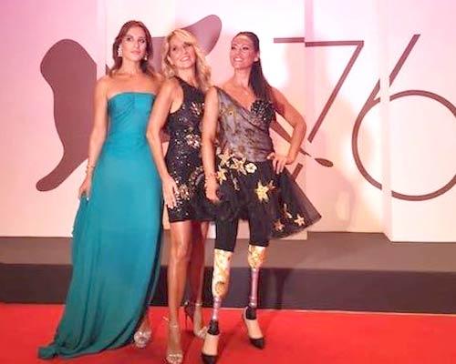 Francesca Carollo, Jo Squillo e Giusy Versace