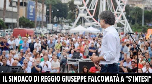 Giuseppe Falcomatà a S'Intesi