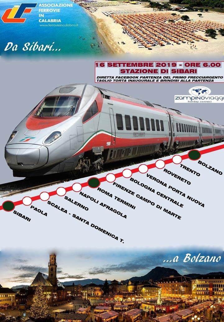 Sibari-Bolzano: il percorso