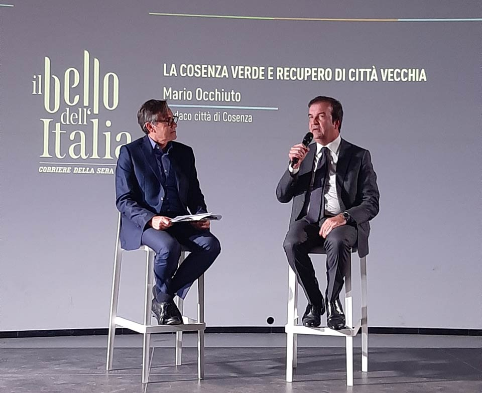 Alessandro Cannavò e Mario Occhiuto