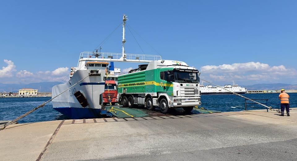 Il traghetto Giano della Meridiano Lines