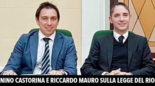 Antonino Castorina e Riccardo Mauro