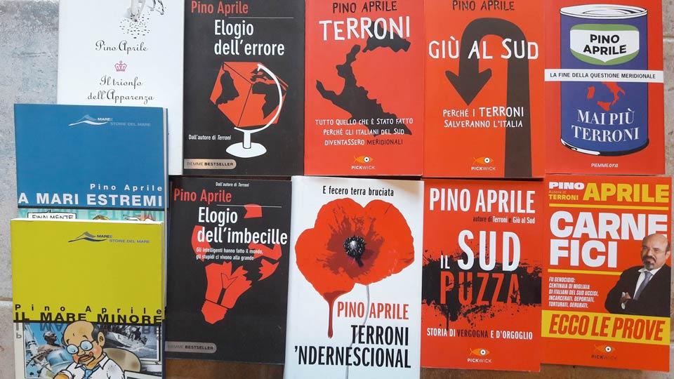 I libri di Pino Aprile