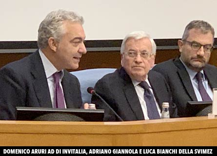 DOmenico ARcuri, Adriano Giannola e Luca Bianchi