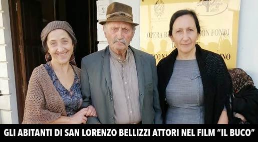 Gli attori-figuranti di San Lorenzo Bellizzi