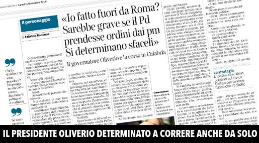 Corriere della Sera intervista Oliverio