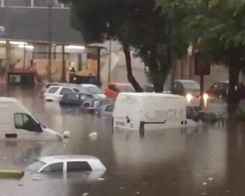 Reggio sott'acqua