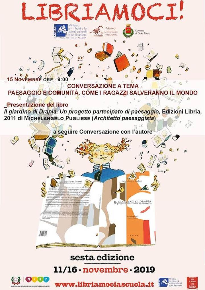 """GIOIA TAURO (RC) - Il libro """"Il giardino di Drapia"""" - Calabria Live"""