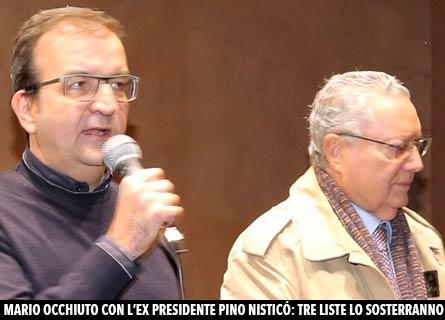 Mario Occhiuto e Pino Nisticò