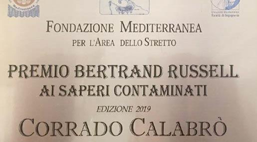 Premio Russell a Corrado Calabrò