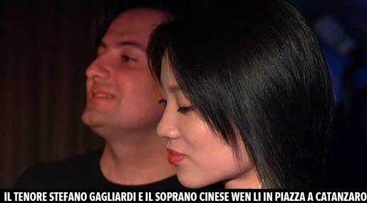 Stefano Gagliardi e Wen Li