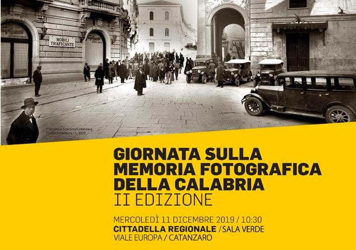 Giornata sulla memoria Fotografica della Calabria