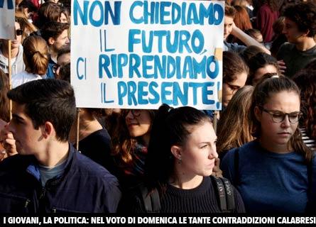 I giovani e la Calabria
