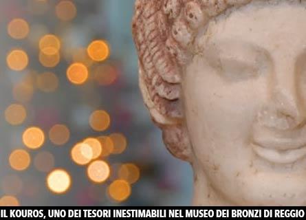 Il Kouros al Museo dei Bronzi di Reggio