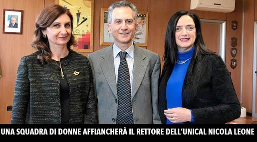 Maria De Paola, Nicola Leone e Patrizia Piro
