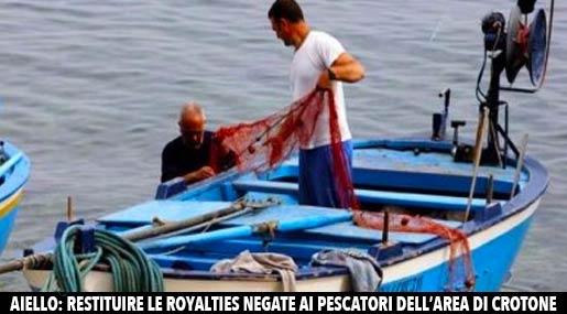 Pescatori a Crotone