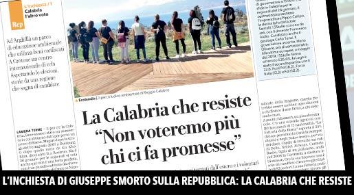 La Calabria che resiste