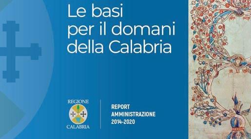 Report di fine mandato di Mario Oliverio