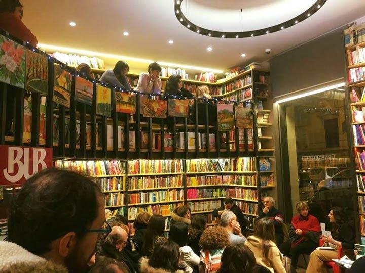 Lettino in libreria