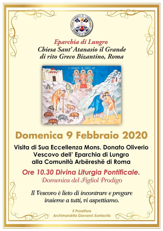 A Roma l'Eparchia di Lungro