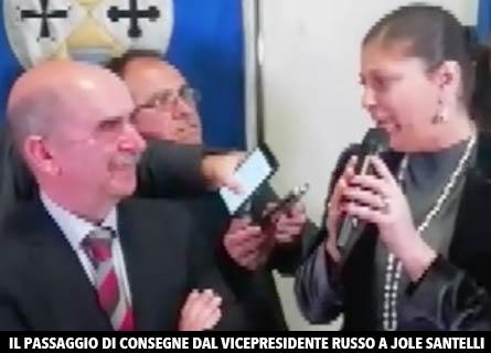 Francesco Russo e Jole Santelli