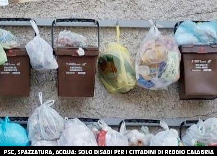 Spazzatura a Reggio Calabria