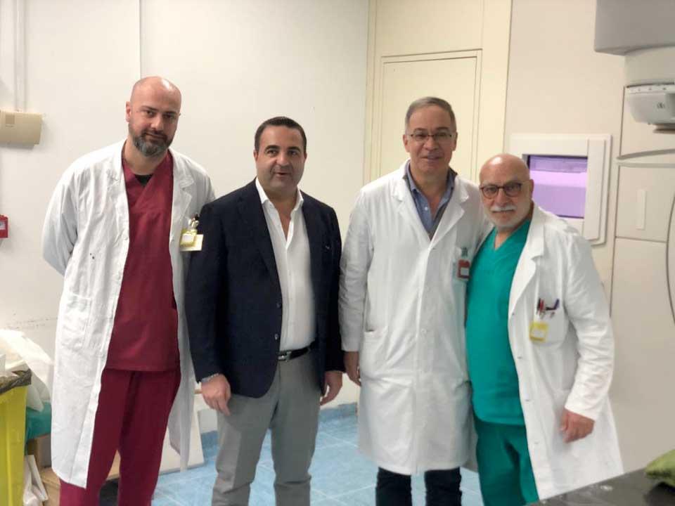 Francesco Cannizzaro e le eccellenze degli Ospedali Riuniti di Reggio