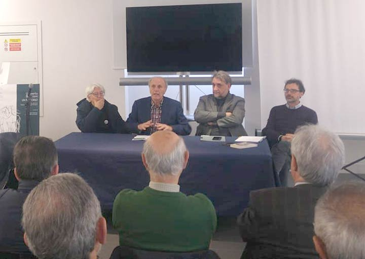 """I quattro """"moschettieri"""" dello Stretto: Zuccarello, Perna, Castrizio e Cuzzola"""